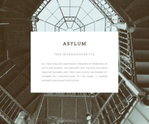 asylum and american horror story image