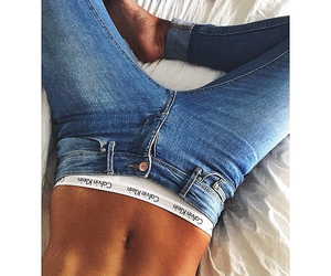 jeans, body, and fitness image