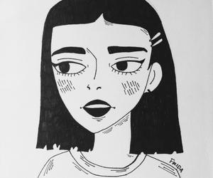 drawing, grunge, and grungedrawing image