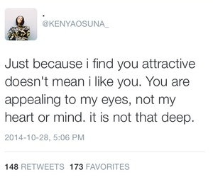 quote, attractive, and heart image