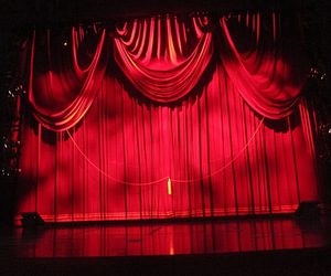 curtains, musical, and performance image