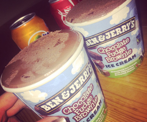 beauty, ben & jerrys, and chocolate image