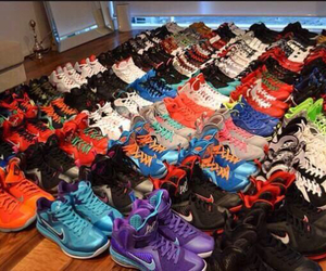 nike, shoes, and lebrons image
