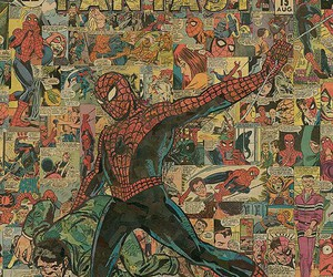 spiderman, Marvel, and wallpaper image