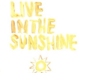 quote, summer, and sunshine image