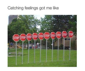 feelings, stop, and funny image