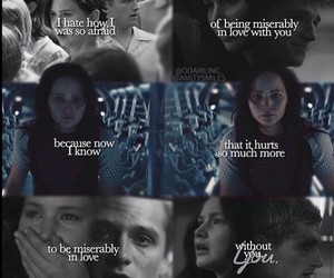 hunger games and everlark image