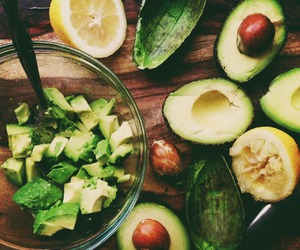 healthy, avocado, and food image