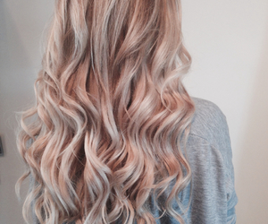 blond, blonde, and curly image