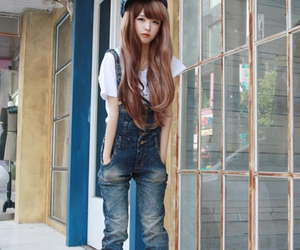 fashion, ulzzang, and kfashion image