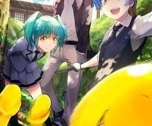 anime, assassination classroom, and karma image