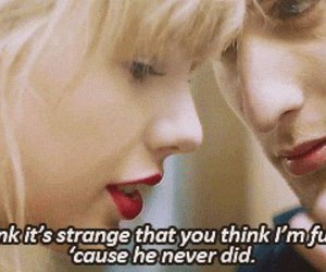 music, Taylor Swift, and red image