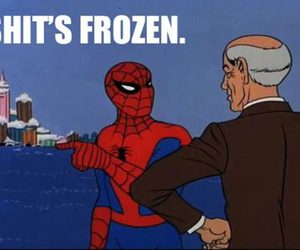 spiderman, frozen, and lol image