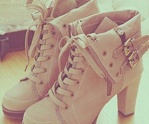 booties, fashion, and heels image