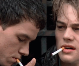 boys, The Basketball diaries, and cigarettes image