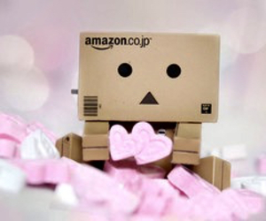 cute, danbo, and hearts image