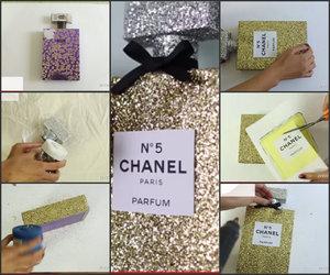 chanel, deco, and glitter image