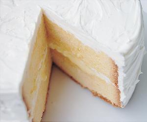 cake, food, and vanilla image