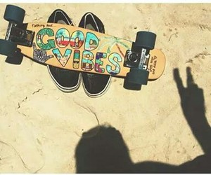 beach, board, and colours image