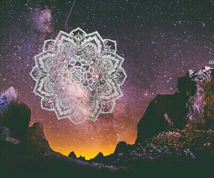 galaxy, boho, and indie image