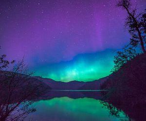 nature, sky, and night image