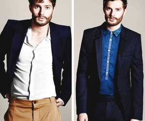 Hot, Jamie Dornan, and christian grey image