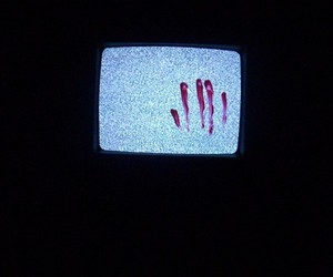 blood and tv image