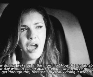 quote, sad, and tvd image