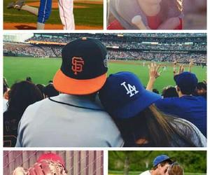 baseball, couple, and game image