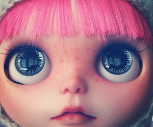 blythe, doll, and eyes image