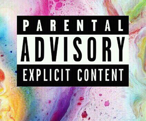 wallpaper, background, and parental advisory image