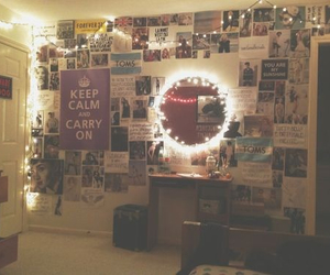 room, light, and tumblr image