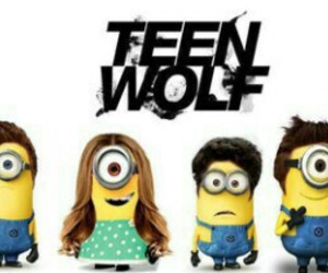 teen wolf, minions, and funny image