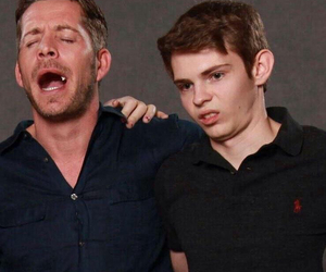 once upon a time, robbie kay, and sean maguire image