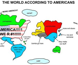 america, funny, and world image