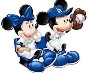 dodgers, minnie, and mickey image