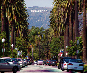 hollywood, california, and los angeles image