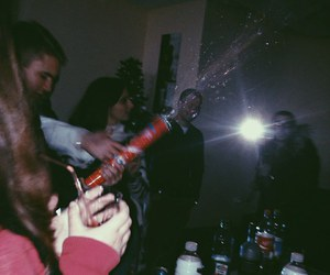 alcohol, grunge, and party image