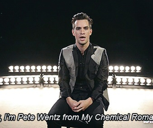 brendon urie, pete wentz, and my chemical romance image