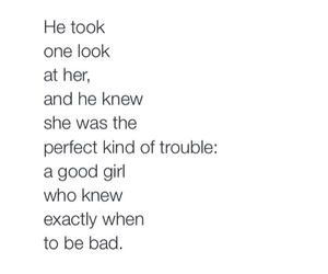 quotes, bad, and trouble image