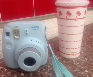 california, camera, and food image