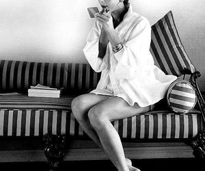 50s, actress, and book image