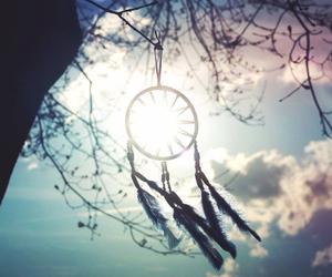 dream catcher, Dream, and sky image
