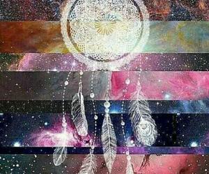 galaxy, dream catcher, and Dream image
