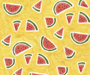 background, yellow, and fruit image