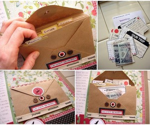envelope, scrap, and inspiration image
