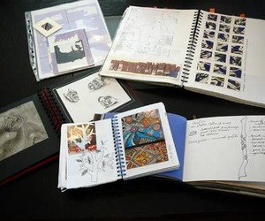 collection, diary, and notebooks image