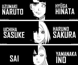 naruto, hinata, and sasuke image