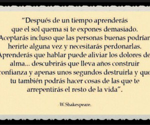 frases, frases en español, and william shakespeare image
