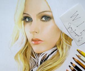 amazing, portrait, and avrillavigne image